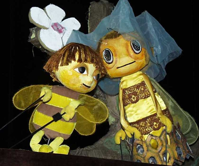 Puppets in Review- The Adventures of Maya the Bee